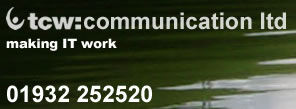 tcw:communication ltd 01932 252520